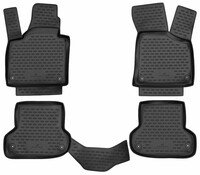 XTR rubber mats for Audi A3 (8P) year Facelift 2006 - 12/2013, A3 Sportback year Facelift 2008 - 12/2015