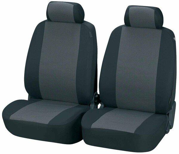 Coprisedili auto grigio Pineto per due sedili anteriori