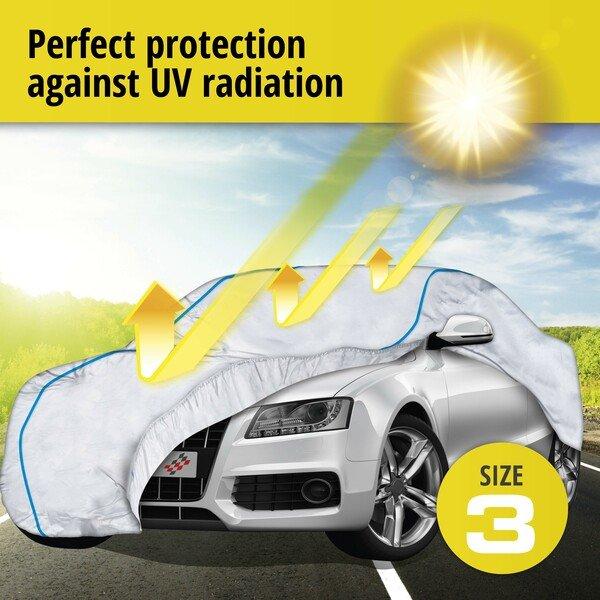 Car tarpaulin Sun Reflect size 3 silver