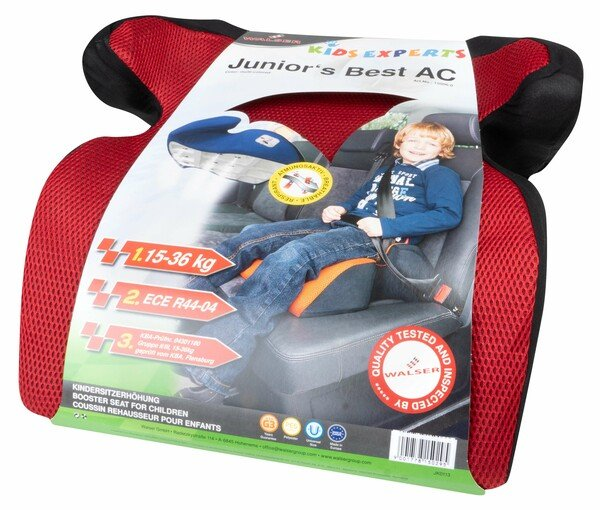 Booster seat for children Juniors Best red