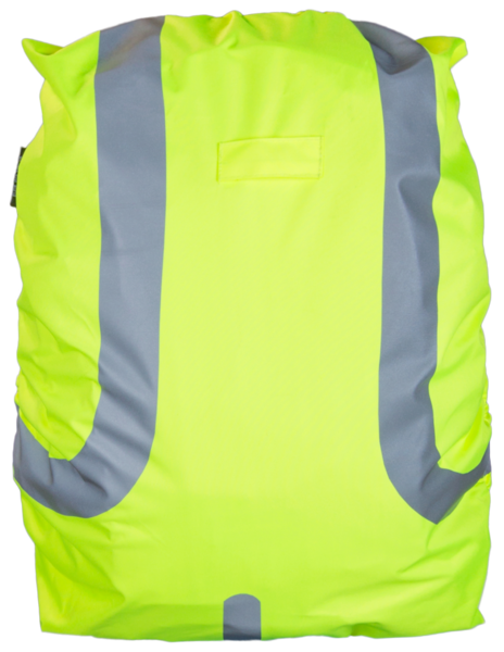 Reflective Bag Cover yellow 45L