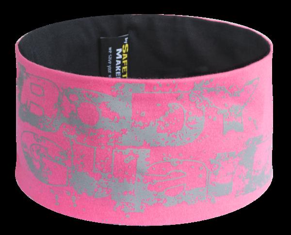 Wende Stirnband pink-silber