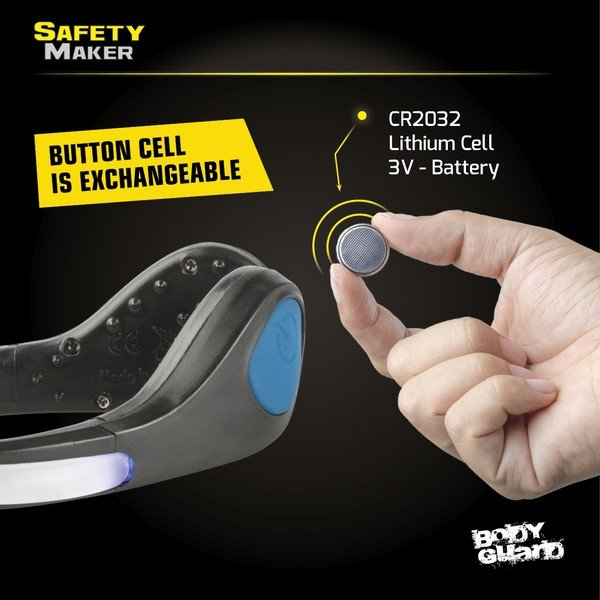 LED shoe clip blue