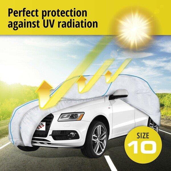 Car tarpaulin Sun Reflect size 10 silver