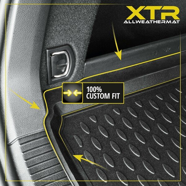 XTR trunk mat for Toyota Land Cruiser (J15) 5 seats year 07/2009 until Facelift 2013
