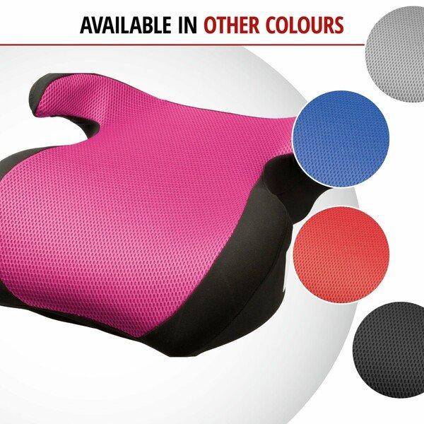 Booster seat Lino black/pink