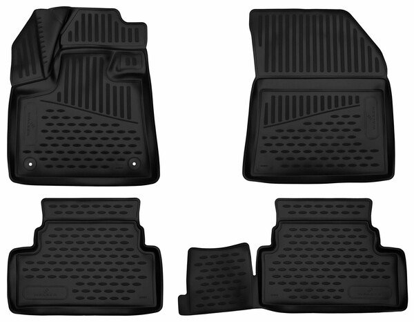 XTR rubber mats for Opel Grandland X year 06/2017 - Today