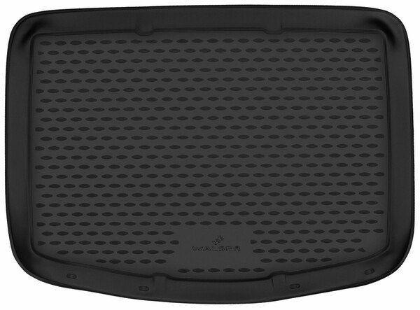 XTR Boot mat for Ford C-MAX II (DXA, CB7, CEU) 04/2010-Facelift 2015, model with emergency wheel