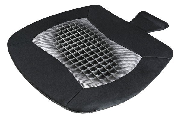 Seat cushion Cool Touch black-grey