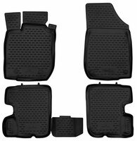 XTR rubber mats for Dacia Sandero I year 06/2008 - 2012