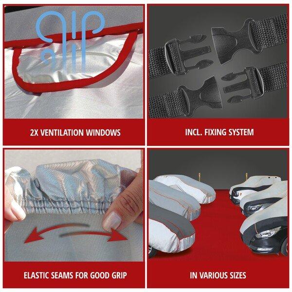 Car hail protection tarpaulin Premium Hybrid size M