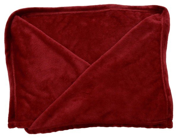 Fleece blanket port red blanket 150 x 200 cm