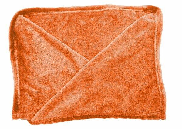 Couverture Snuggle Couverture polaire Snuggle avec manches orange