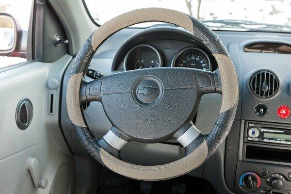 Steering wheel cover steering wheel cover sport beige
