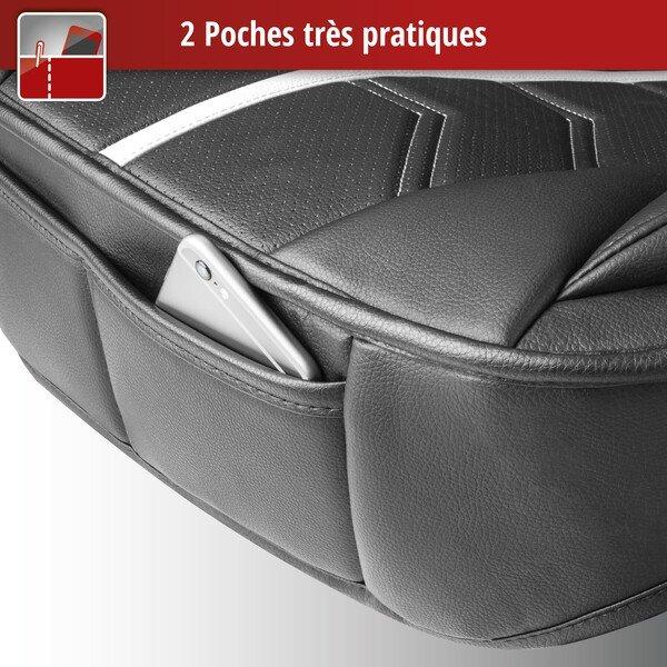 Housse de sièges Kimi noir blanc
