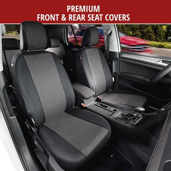 Car Seat covers Pineto grey complete set