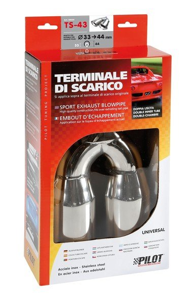 Universal exhaust trim TS-43