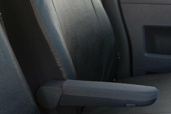 Autositzbezüge für VW T5 Einzelsitz vorne aus Kunstleder ab Baujahr 09/2009 - heute