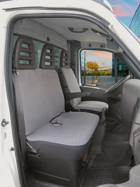 Transporter Car Seat covers Universal Como single seat and double bench in front