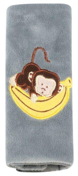 Monkey Mini-Gurtpolster Gurtschoner grau ab 3-4 Jahre