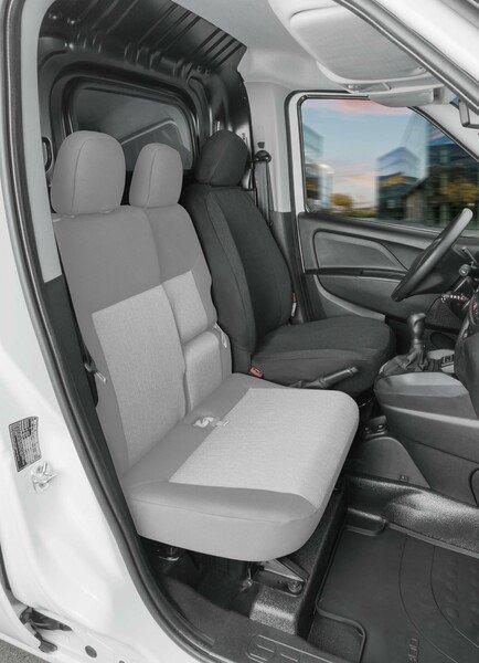 Autoschonbezug Transporter aus Stoff für Fiat Doblo II, Einzelsitz Fahrer