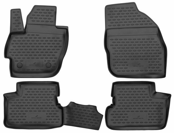 XTR rubber mats for Mazda 3 year 12/2008 - 09/2014