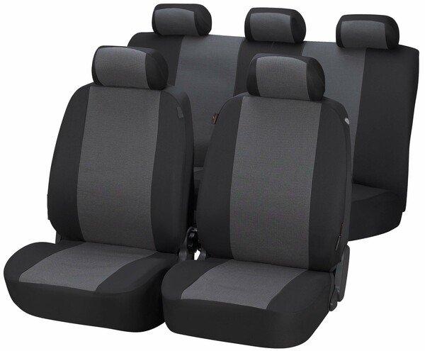 Autositzbezüge Pineto grau Komplett Set