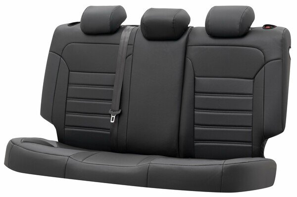 Seat cover Robusto for Seat Leon (5F1) year 09/2012-Today, 1 rear seat cover for sport seats