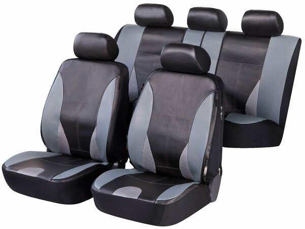 ZIPP IT Deluxe Sporting Autositzbezüge aus Kunstleder mit Reissverschluss System