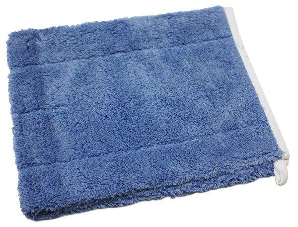 Washing Glove Microfibre blue