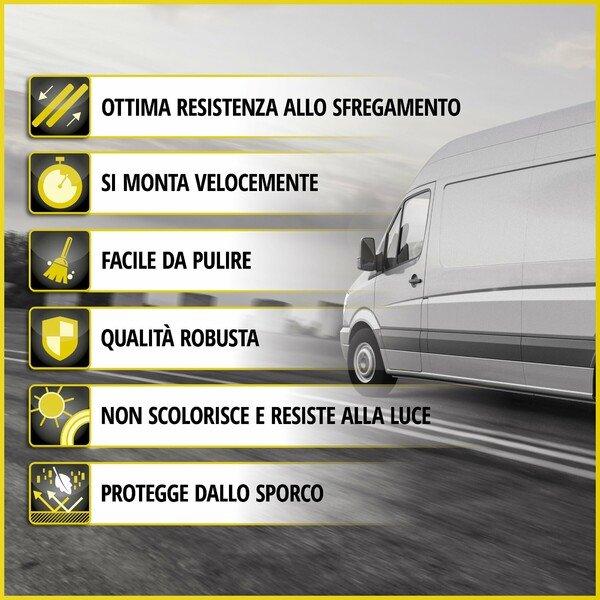 Premium Coprisedili per Citroen Berlingo 06/2018-Oggi, 1 coprisedile singolo anteriore, 1 doppia copertura della panchina