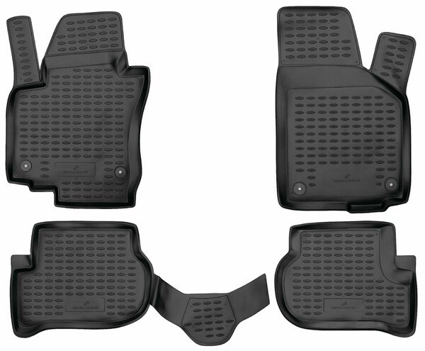 XTR rubber mats for VW Golf Plus year 2004 - 2013