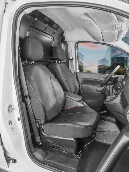 Transporter Coprisedili in similpelle per Mercedes-Benz Citan W415, 2 posti singoli anteriori