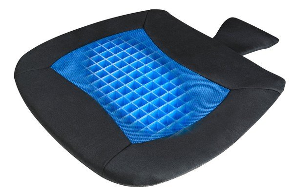 Sitzkissen Cool Touch schwarz-blau