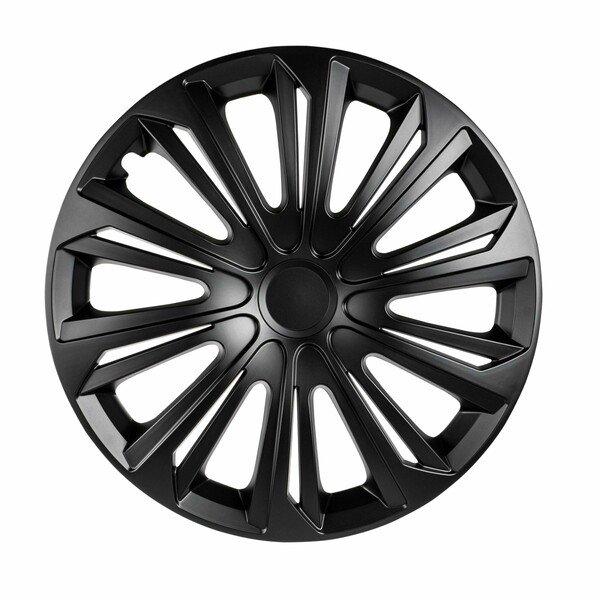 "Wheel covers Racer 14"", 4 piece black"