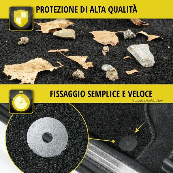 Tappetini per Renault Clio, Collezione Clio