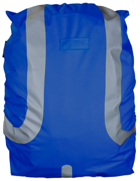 Reflective Bag Cover blue 45L