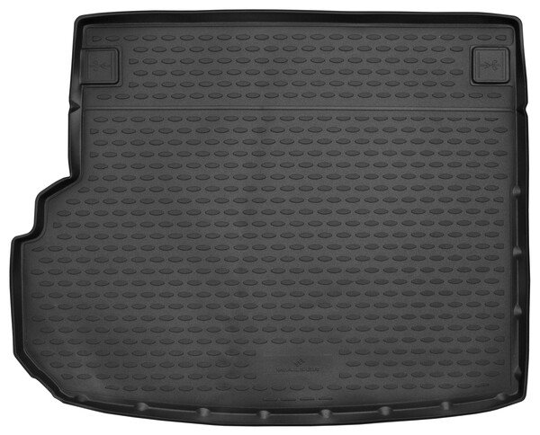 Trunk mat XTR for Mercedes Benz GLK (X204) without cut for handle Year of construction 2008 to 2015