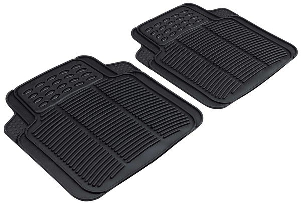 Rubber mats for Spartakus black Back mats