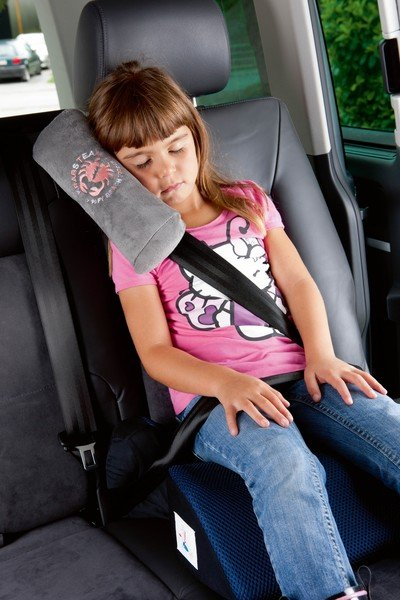 Seat Belt Pillow Team Krabs anthracite from 5 years
