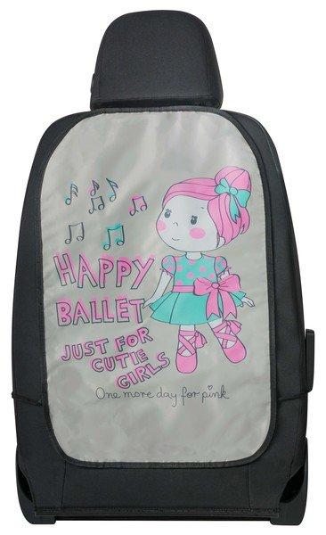 Autositz Rückenlehnenschutz Ballet Doll rosa
