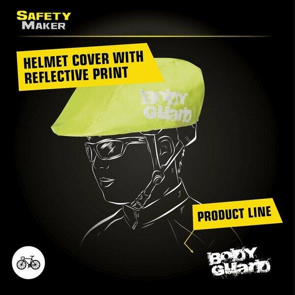 Helmet cover yellow