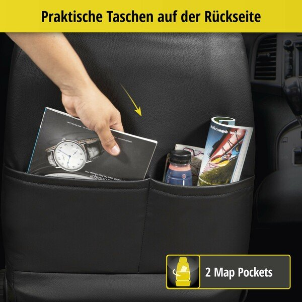 Passform Sitzbezug Bari für Audi A3 2012-Heute, 2 Einzelsitzbezüge für Sportsitze
