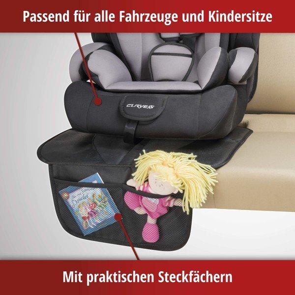 Kindersitzunterlage für PKW Rückbank George XL Premium