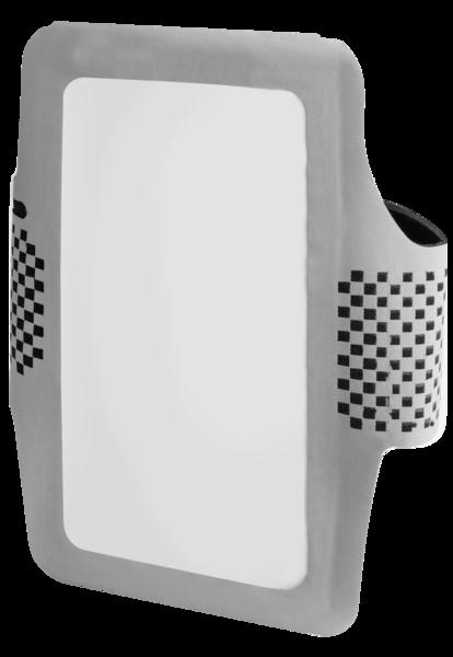 Sport Smartphone Hülle silber-schwarz