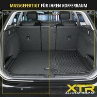XTR Boot mat for BMW 5er Touring Wagon (F11) year 2009 - 2017