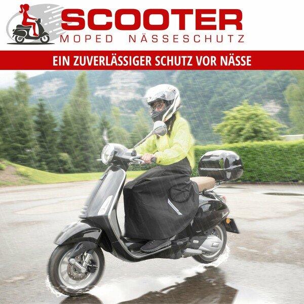 Nässeschutz für Roller- und Mopedfahrer universal