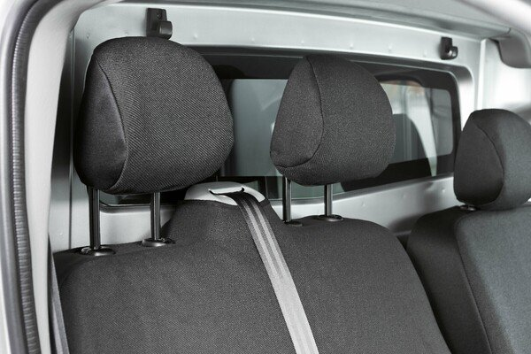 Car Seat covers for Opel Vivaro, Renault Traffic and Nissan Primastar single seat and double bench