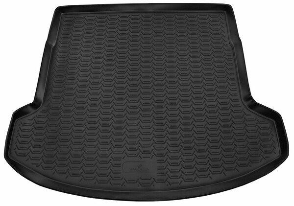 XTR trunk mat for Nissan Qashqai 12/2006-04/2014, 3rd row folded (long mat)