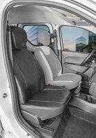 Autoschonbezug Transporter aus Kunstleder für Dacia Dokker, Einzelsitz Beifahrer